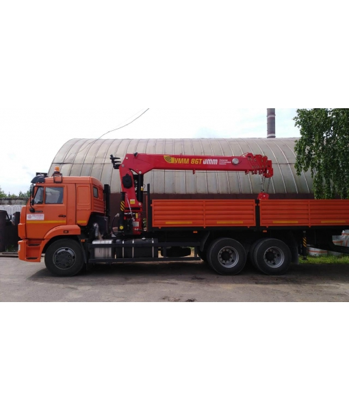 КамАЗ 65115 бортовой с УММ-86Т