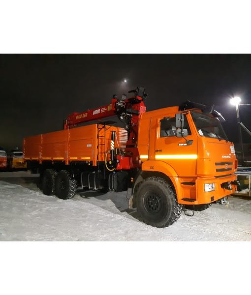 КамАЗ 43118 бортовой с УММ-86Т