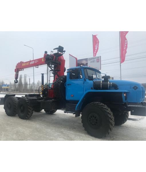 Урал 4320 тягяч с КМУ УММ-86Т